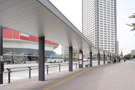 川崎駅西口駅前広場周辺
