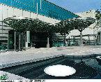 豊橋東口駅前広場アルミ製立体トラス屋根