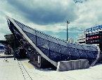 米子駅前地下駐車場出入口シェルター