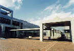 千葉工業大学芝園校舎通路屋根