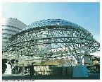 千葉駅前地下道第1階段上屋ドーム