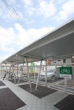 クリスタルプラザアネックス駐輪場